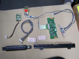 lot Boards LG 37LN5700 TV T-con lc500due-sfr1 push buttons, ribbon, wifi... - $29.69