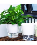 Flower Pot Creative Auto Irrigate Vase Automatic Watering Planter Lazy P... - $9.99