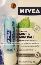 NIVEA* Balm Refreshing A KISS OF MINT & MINERALS Lip Balm/Gloss/Care NEW! - $3.99
