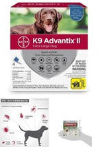 4 doses K9 Advantix II Flea Tick and Mosquito Prevention for X-Large Dogs - €50,15 EUR