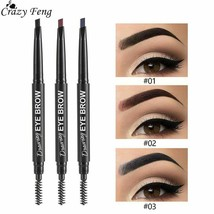 Eyebrow Pen Tattoo Double Head Waterproof Eye Makeup Eyebrow Tint Cosmet... - $5.22