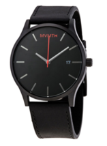 MVMT Classic Black Dial Black Leather Men's Watch L213.5L.551 - $94.95