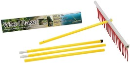 The Weed Raker By Jenlis - Weed And Grass Removal Tool For Lakes, Ponds And - £139.12 GBP