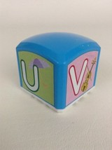REPLACEMENT Hasbro Sesame Street Elmo's Find & Learn Alphabet Block U V W X - $8.86