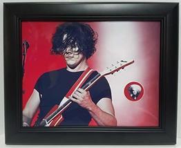 Jack White custom framed guitar pick display J1 - $75.95