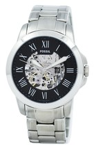 Fossil Grant Automatic Black Skeleton Dial Me3103 Men's Watch - $196.50