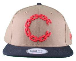 Crooks & Castles New Era Purple/Yellow or Khaki Chain C Snapback Hat image 9