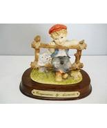 Leonardo Companions Figurine on Wood Base - $18.69