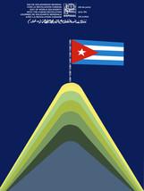 "20x30""Political World Solidarity Socialist Poster CANVAS.Cuba Revolution... - $75.00"
