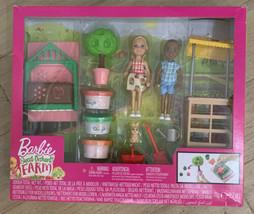 Barbie Sweet Orchard Farm Chelsea Doll and Friend Veggie Garden Playset ... - $39.15