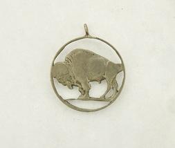 Buffalo Nickel Cut Out Coin Charm - $19.95