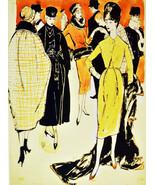 """20x30""""Poster on Canvas.Interior design Art.Retro fashion Deco dresses.6311 - $60.78"""
