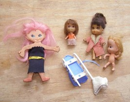 Liddle Kiddles Mattel Ideal Flatsy + More Doll Lot - $28.99