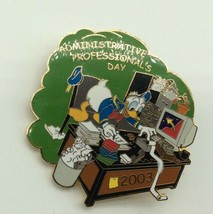 WDW Disney Pin Cast Administrative Professional's Day 2003 Donald Duck - $14.99
