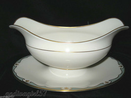 Lenox Meredith * GRAVY BOAT W/ ATTACHED UNDERPLATE * F-505, Gravyboat, EXC! - $39.99
