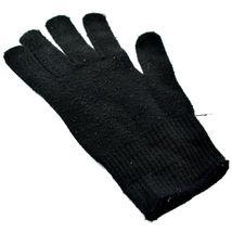 Harley Davidson Motorcycles Women's Black Knit Gloves Orange Bar & Shield image 3