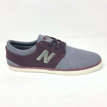 New Balance 344 Numeric Gray Maroon NM344SRG Mens Size 13 - $54.95