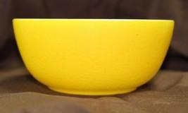 """Vintage 1950's Hazel Atlas Lemon Peel Yellow Cereal Chili Bowl 4 7/8"""" Mi... - $14.99"""