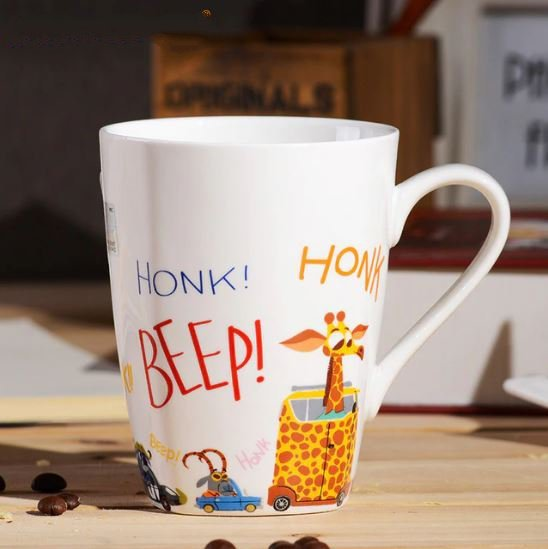 Cartoon Zootopia Mug Ceramic Coffee Milk Tea Cup Children Gift