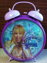 Miley Cyrus Disney Hannah Montana Secret Pop Star Sparkle Bell Alarm Clo... - $4.94