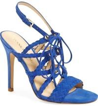 Ivanka Trump Hera Sandal Blue Heels Sz 9M NWD - $44.14