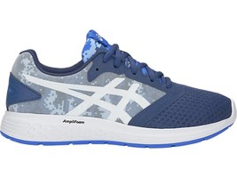 ASICS Patriot 10 GS SP Kid's Running Shoe, Grand Shark/White, 7 M US Big... - $137.48