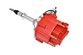 Chevy Late Inline 6 Cylinder HEI  Distributor 230 250 292 Red 65K Coil image 3