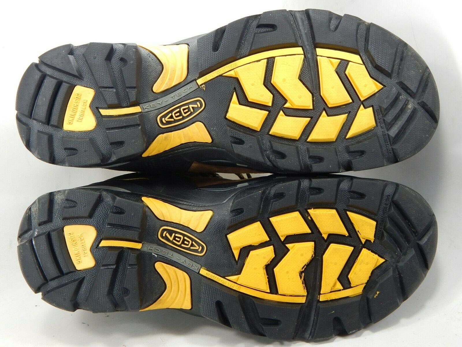 "Keen Pittsburgh 6"" Size US 13 M (D) EU 47 Men's WP Steel Toe Work Boots 1007025"
