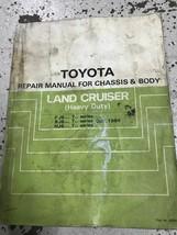 1982 1983 1984 Toyota Land Cruiser Heavy Duty Service Shop Repair Manual... - $74.20