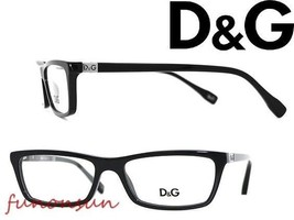 Dolce & Gabbana Women's Eyeglasses D&G 1215 501 Black Plastic Rectangle ... - $96.03
