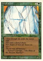 Magic: The Gathering 3rd Edition - Wall of Ice - $0.25