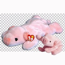Squealer The Pig Retired Ty Beanie Baby and Buddy Set MWMT Collectible - $44.50
