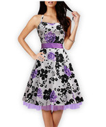 Dress stylish Lady Party 50s 60s vintage - $70.99+