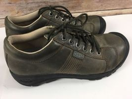 Mens KEEN Oxfords 10 Trail 0506 Hiking Sneakers Shoes Brown US Leather HffRqra