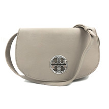 Tory Burch Jamie Leather French Grey Clutch Crossbody Ladies Bag 33736306 - $299.00