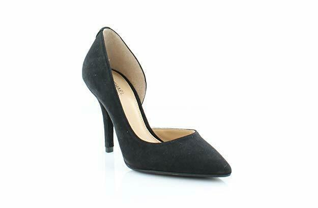 Primary image for Michael Kors Nathalie Flex Pump Heels Black Suede Size 5