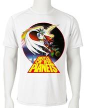 Battle Planets Dri Fit graphic T-shirt microfiber superhero anime Sun Shirt tee image 2