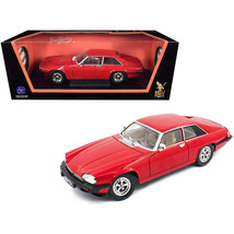 1975 Jaguar XJS Coupe Red 1/18 Diecast Model Car by Road Signature 92658r - $75.73