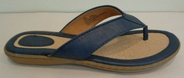 Born Size 10 M ZITA Navy Flip Flops Sandals New Womens Shoes - $78.21