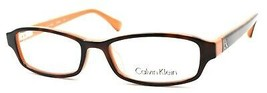 Calvin Klein CK5865 506 Eyeglasses Frames PETITE 48-16-135 Havana / Orange - $44.35