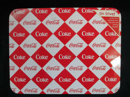 Coca-Cola Tin Trivet Cork Back Red White Diamond Coke   BRAND NEW - $4.95