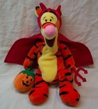 "Disney Winnie The Pooh Halloween Tigger In Devil Costume 9"" Stuffed Animal Toy - $16.34"