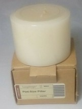 Longaberger Pint Size Pillar Scented Candle - Vanilla 90040 - Original P... - $11.76