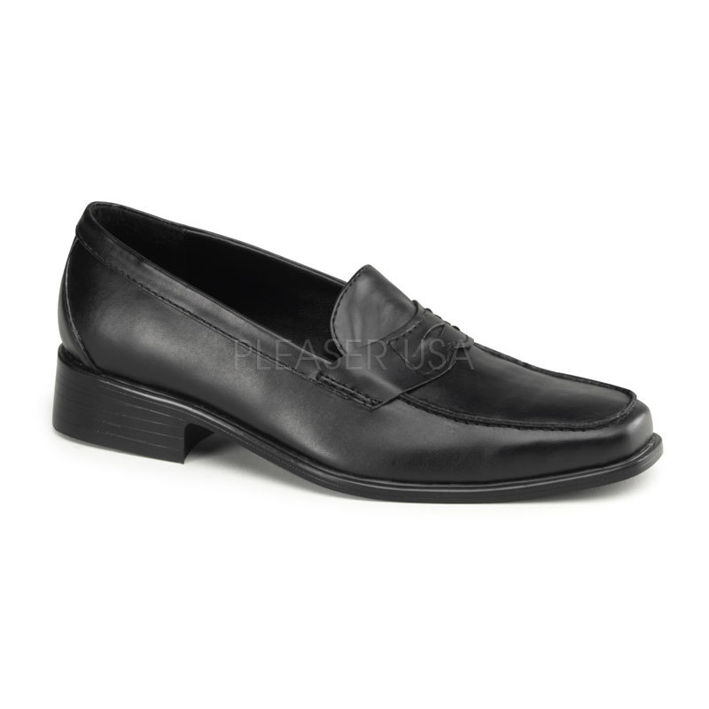 FUNTASMA Popstar-09 Heel Loafer - Black Pu