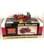 New Holland 1:16 Scale 66 Engine Powered Hay Baler SpecCast Rare Display - $296.99
