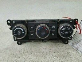 2008 Suzuki Vitara XL-7 REAR TEMPERATURE CONTROLS - $40.29