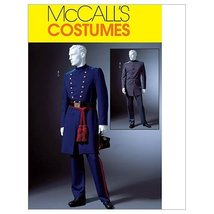 McCall's Patterns M4745 Men's Civil War Costumes, Size XN (XLG-XXL-XXXL) - $14.21