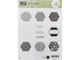 Stampin' Up! Six-Sided Sampler Rubber Stamp Set #130956 - $11.99