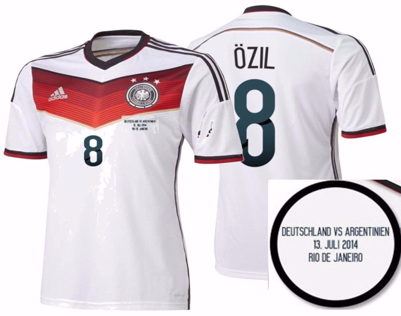 5164af9383 Adidas M. Ozil Germany Authentic Final Game and 50 similar items