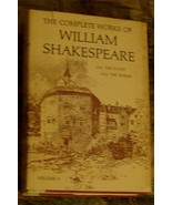 The Complete Works of William Shakespeare, Volume 2, VG COND - $8.90